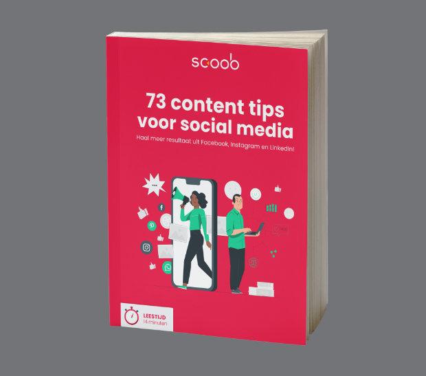 popup - ebook - content ideeën voor social media